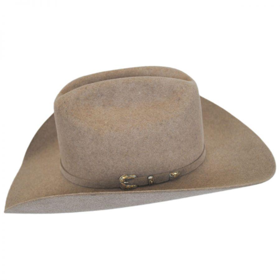 85949e46cc829 Larry Mahan Hats Legend 5X Fur Felt Cattleman Western Hat - Made to ...