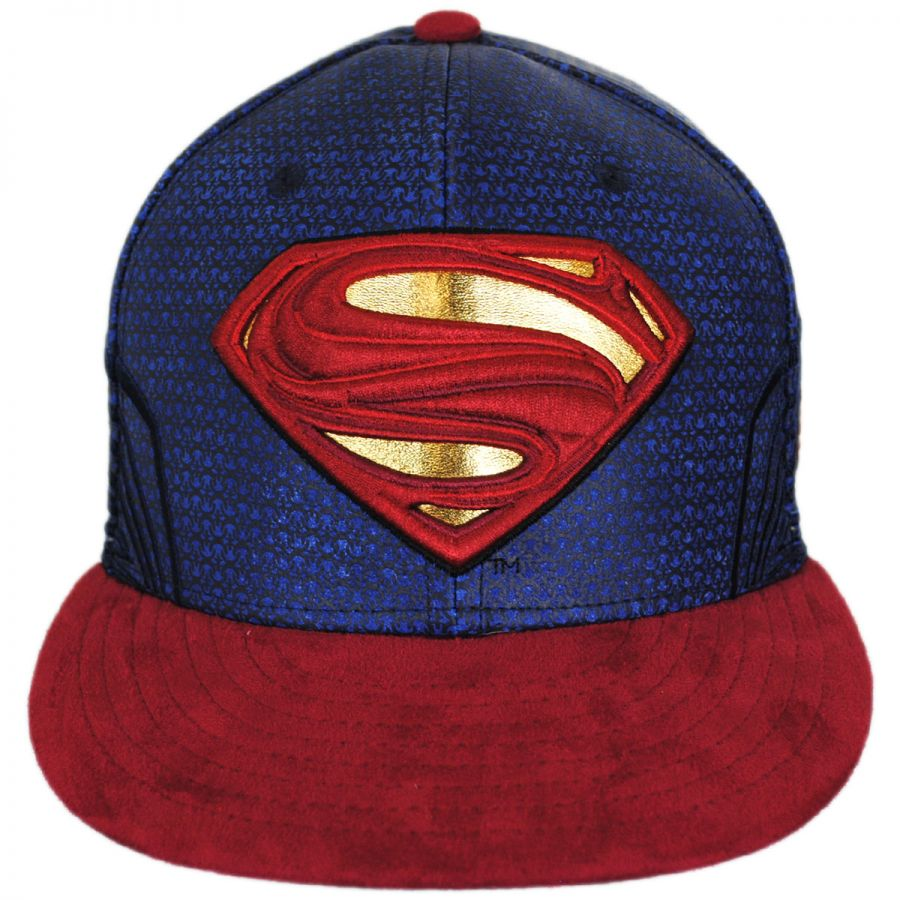 New Era DC Comics Superman Justice League 59Fifty Fitted Baseball ... 001015dffcc