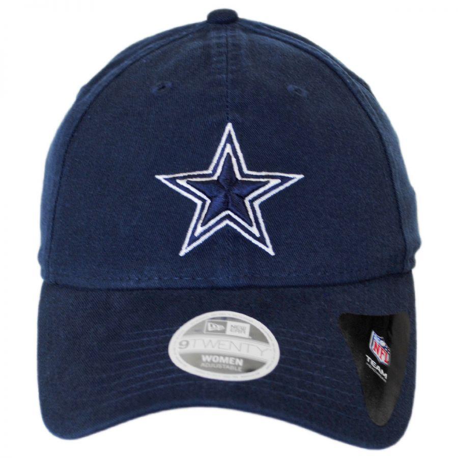 acae19e5d27 New Era Dallas Cowboys NFL Slouch 9Twenty Strapback Baseball Cap Dad ...
