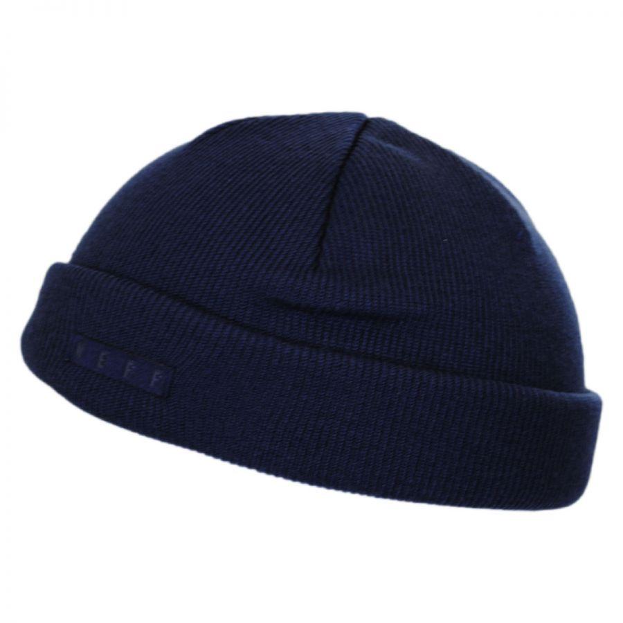 Neff Mini Fisherman Knit Beanie Hat Beanies 6c67b7d65e9