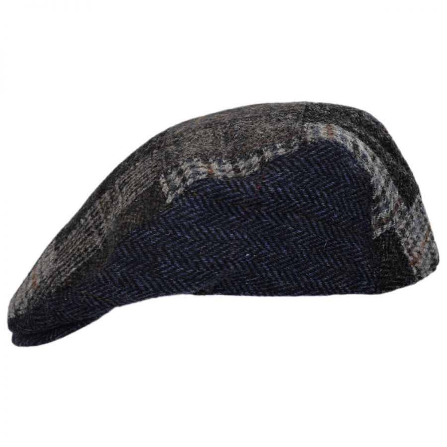 85d4cc7ba Cheesecutter Patchwork English Wool Tweed Ivy Cap
