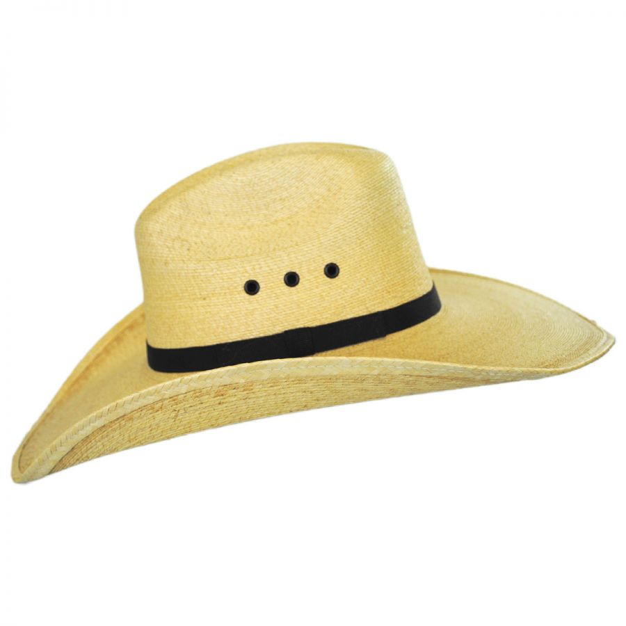 13686ade Charlie 1 Horse Maverick Palm Leaf Straw Western Hat Western Hats