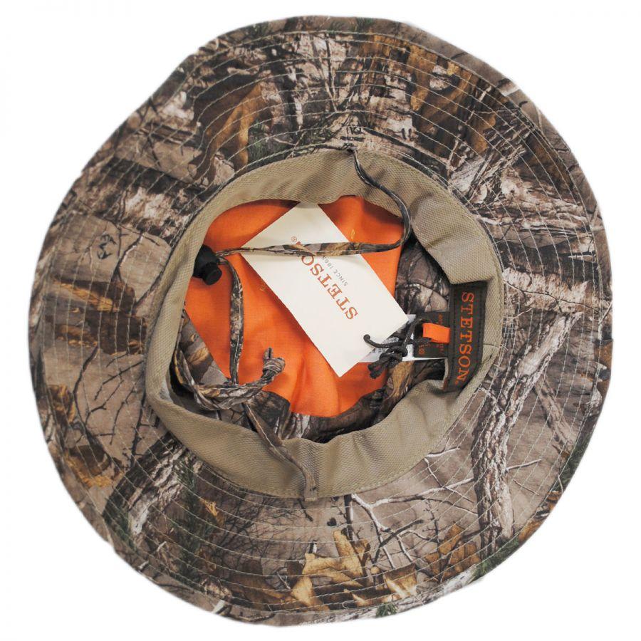 450a5cf66a2 Stetson NFZ Camo Boonie Hat Bucket Hats