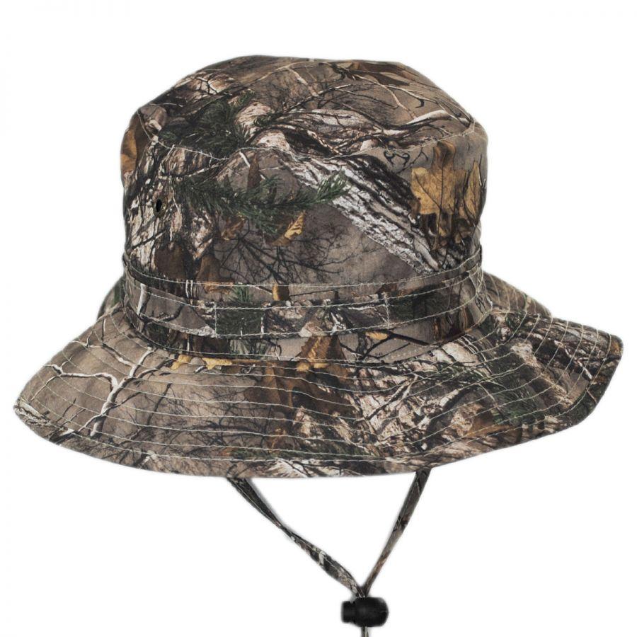 1410dc02d45 Stetson NFZ Camo Boonie Hat Bucket Hats