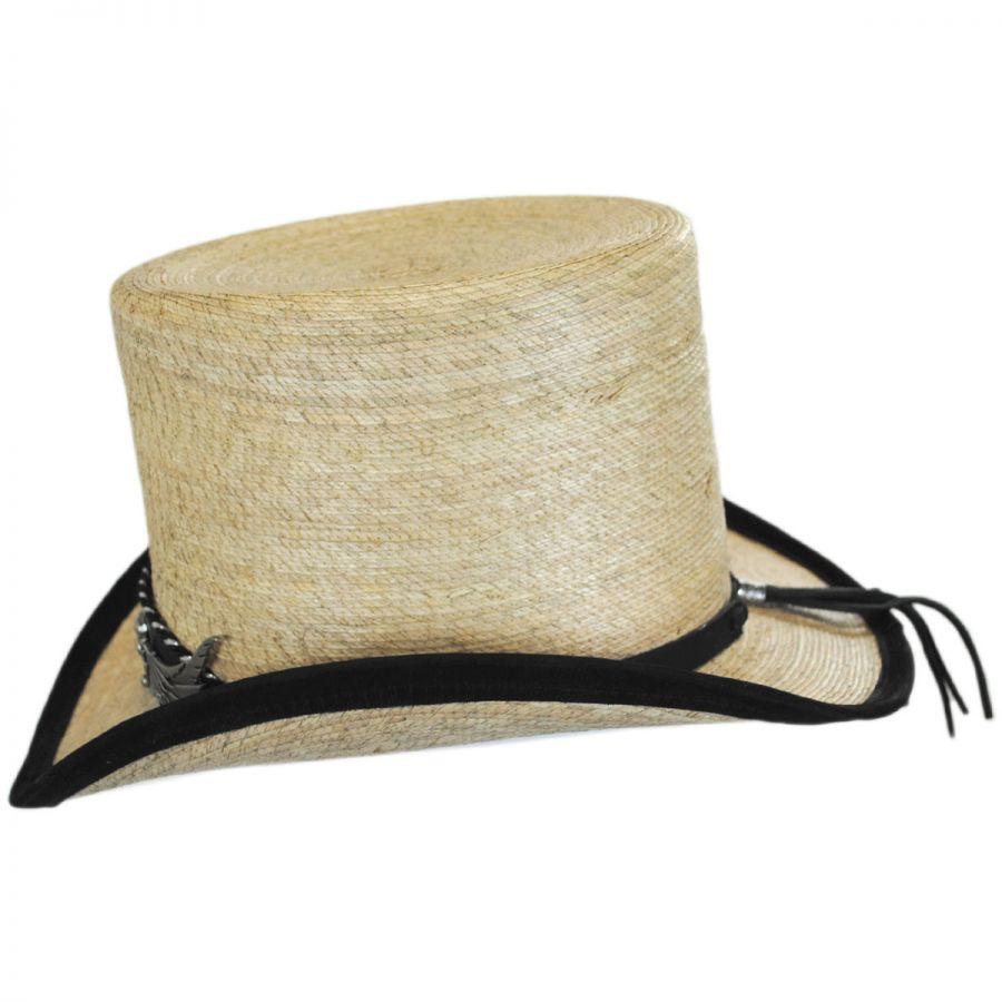 ab6a9c4f66db7 Charlie 1 Horse Rock Ridge Palm Leaf Straw Top Hat Top Hats