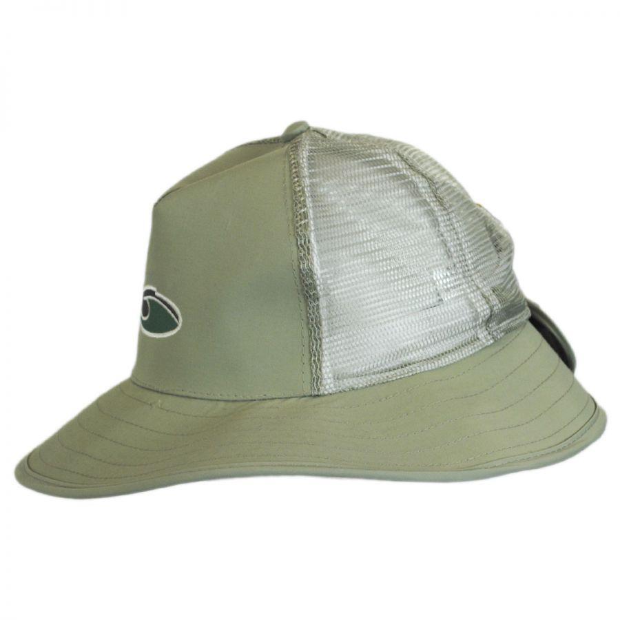 Dorfman Pacific Company Supplex Mesh Trucker Booney Hat Bucket Hats beab0e6f0768