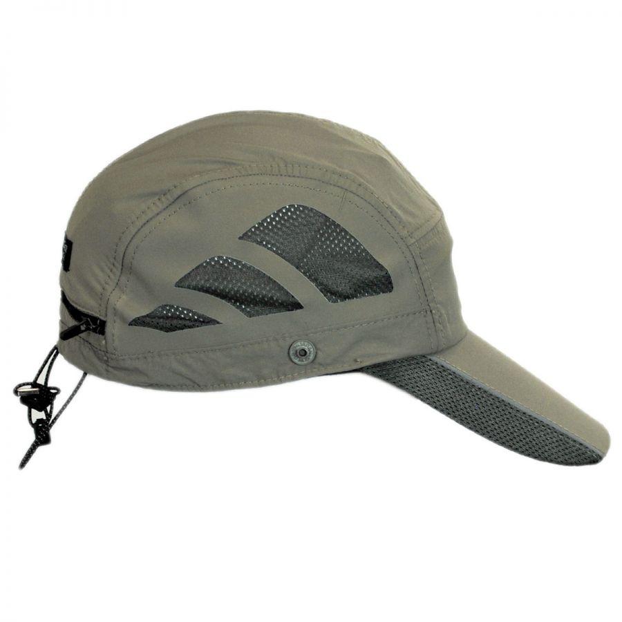 199b32ff23790 Dorfman Pacific Company Fishing Supplex Flap Baseball Cap Blank ...