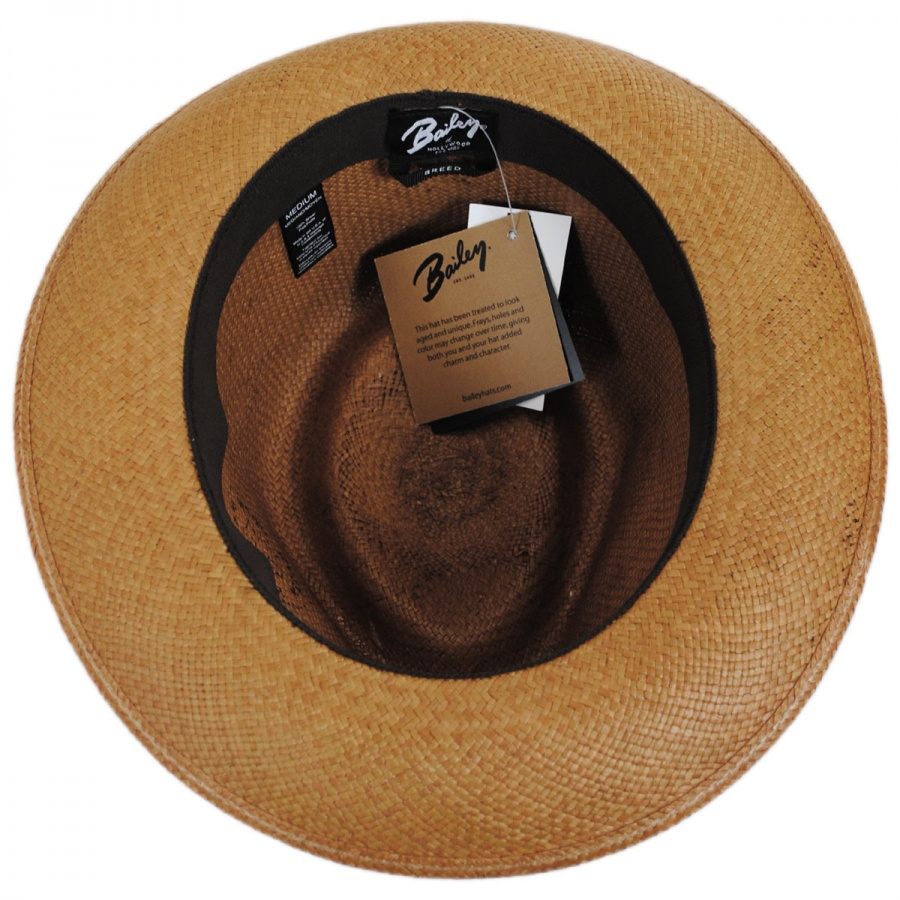 Bailey Tessier Panama Straw Fedora Hat Panama Hats 6bff0288771