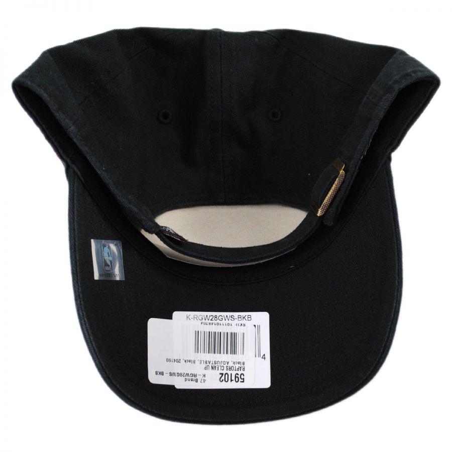 d0fc976579e95 Toronto Raptors NBA Clean Up Strapback Baseball Cap Dad Hat II in · 47 Brand