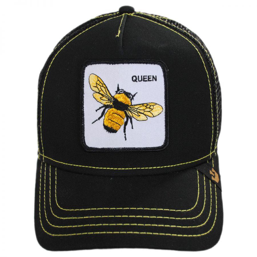 67f597a39c8f8 Goorin Bros Queen Bee Mesh Trucker Snapback Baseball Cap Snapback Hats
