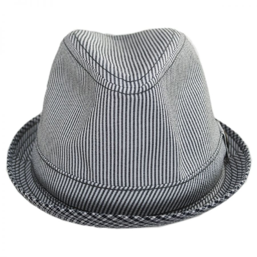 Goorin Bros Mind Seeker Fabric Trilby Fedora Hat Fabric c98fb85ca68