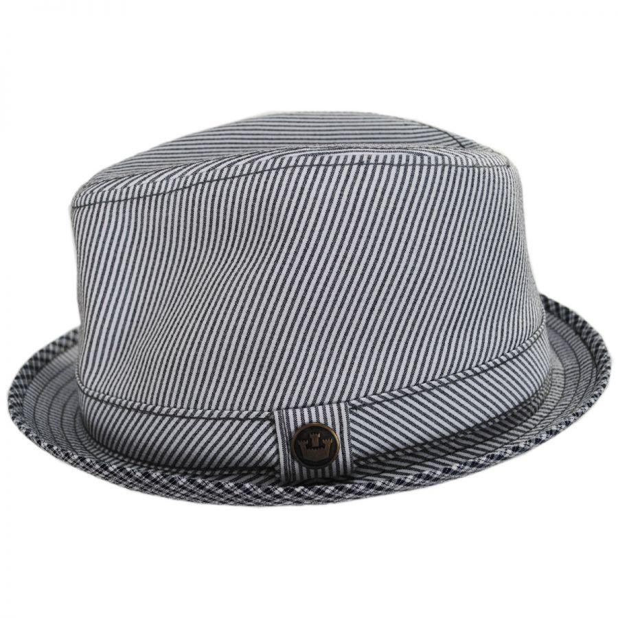 554f0d55 Goorin Bros Mind Seeker Fabric Trilby Fedora Hat Fabric