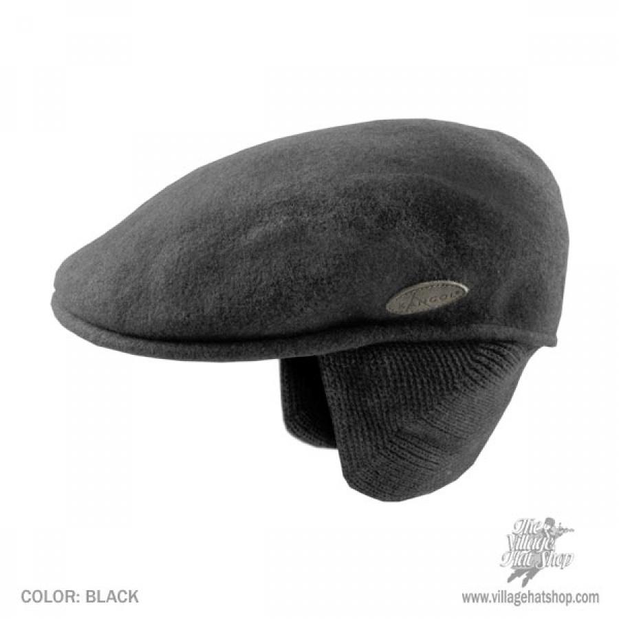 d10679272d Wool 504 Earflap Ivy Cap