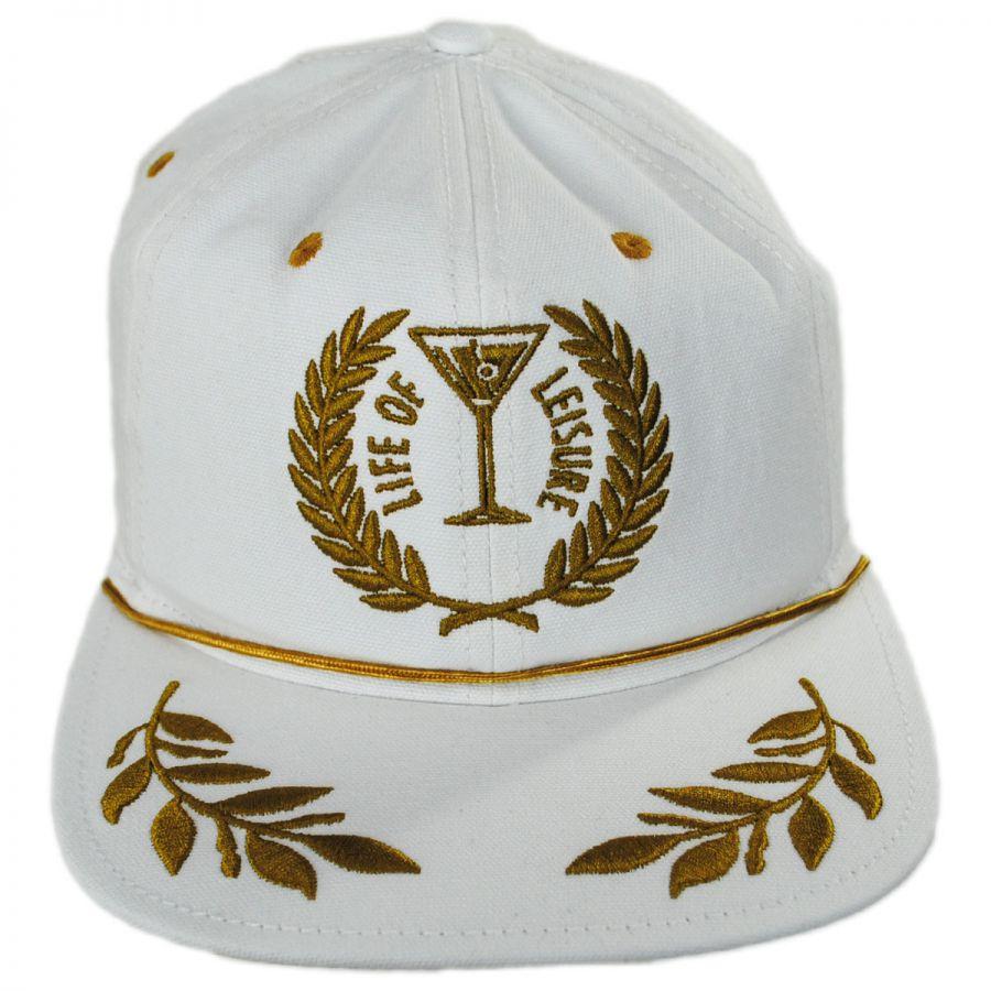 Goorin Bros Leisure Mesh Trucker Snapback Baseball Cap Snapback Hats 8c0307f4673