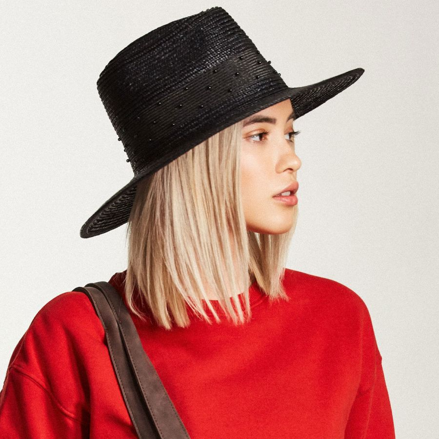 910143c40 Macy Straw Fedora Hat