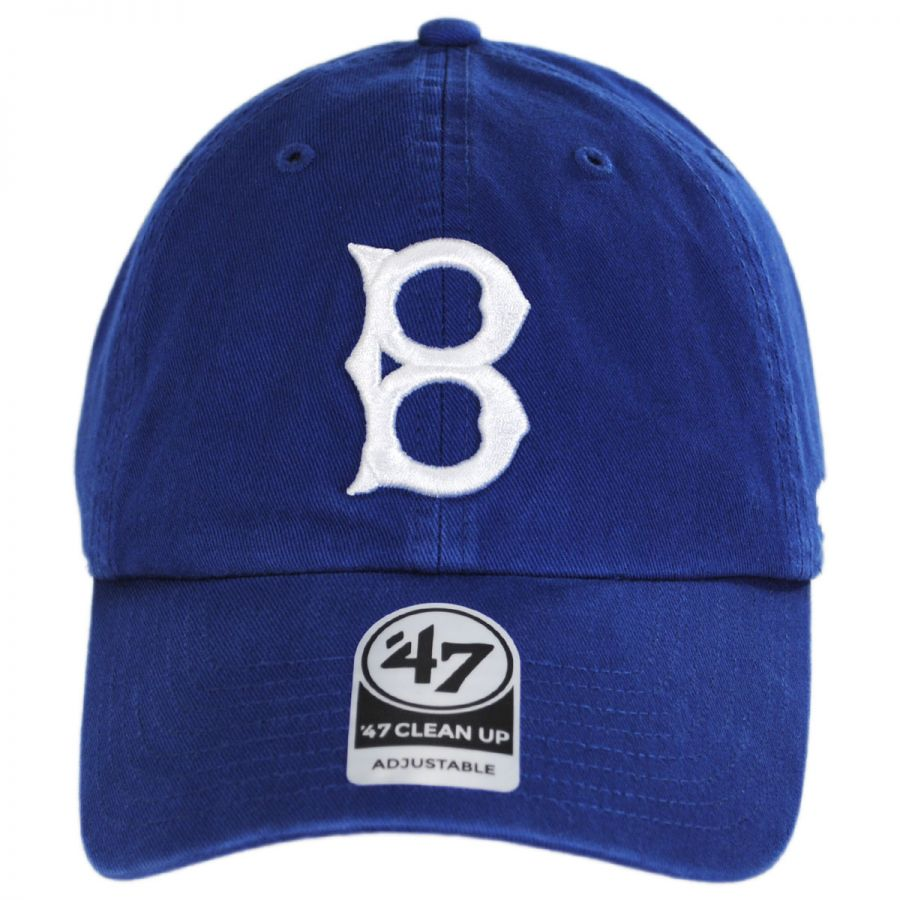 c620605d4b657 Brooklyn Dodgers MLB Cooperstown Clean Up Strapback Baseball Cap Dad Hat in