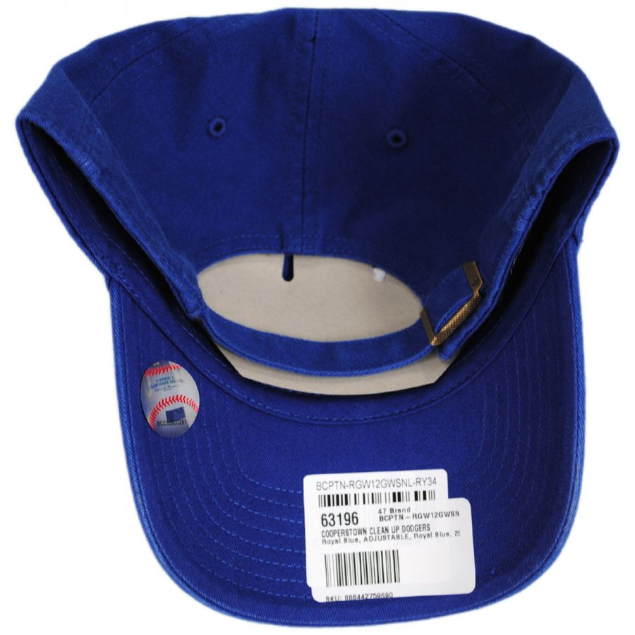 c6871996cfc95 Brooklyn Dodgers MLB Cooperstown Clean Up Strapback Baseball Cap Dad Hat in  · 47 Brand