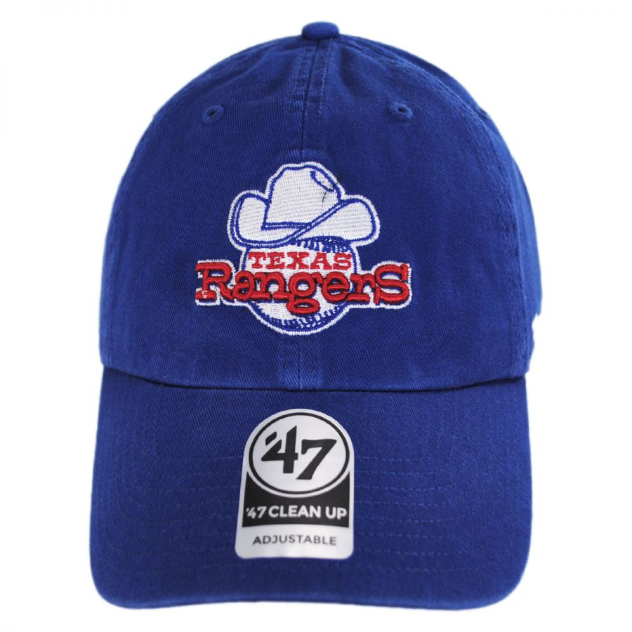 11f27105e59 ... alternate view 1 · Texas Rangers MLB Cooperstown Clean Up Strapback  Baseball Cap Dad Hat in
