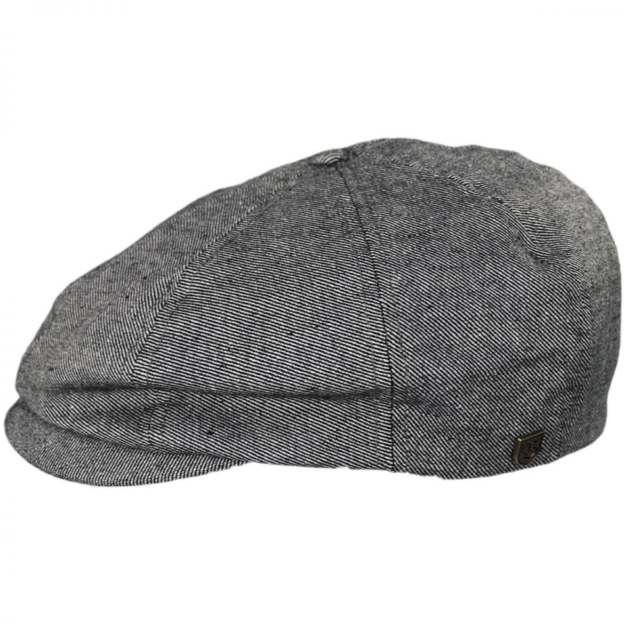1932f3b56b22b Brixton Hats Brood Cotton Denim Newsboy Cap Newsboy Caps