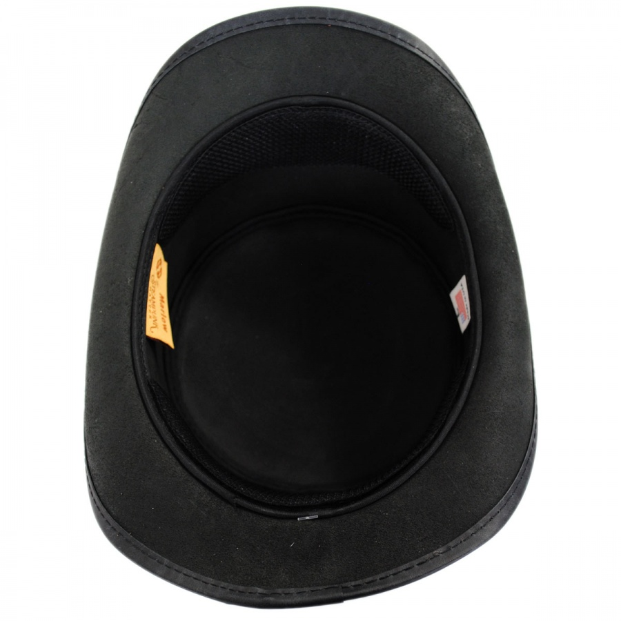 9f3ad538a0 Head 'N Home Marlow Leather Top Hat Top Hats