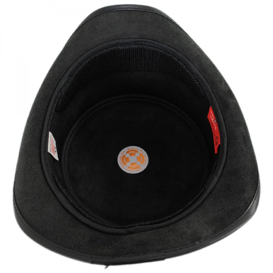 c8da6ddc52f1f Head  N Home El Dorado Leather Top Hat Top Hats