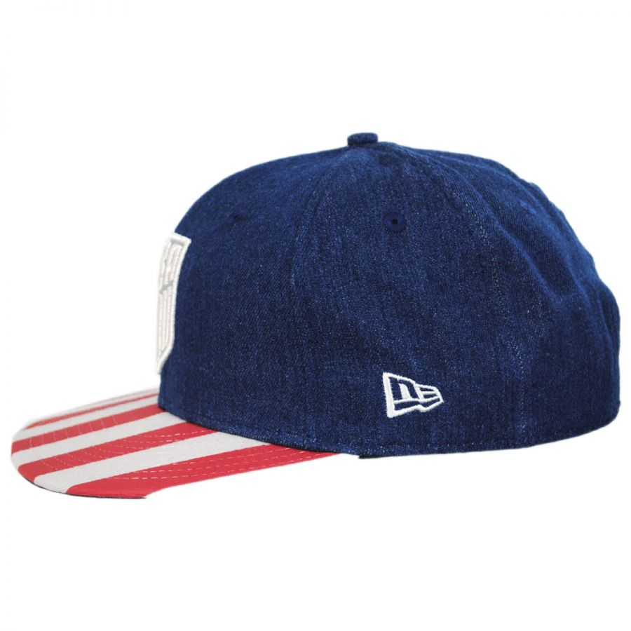 New Era US Soccer Fully Flagged 9Fifty Snapback Baseball Cap ... d68cebbea