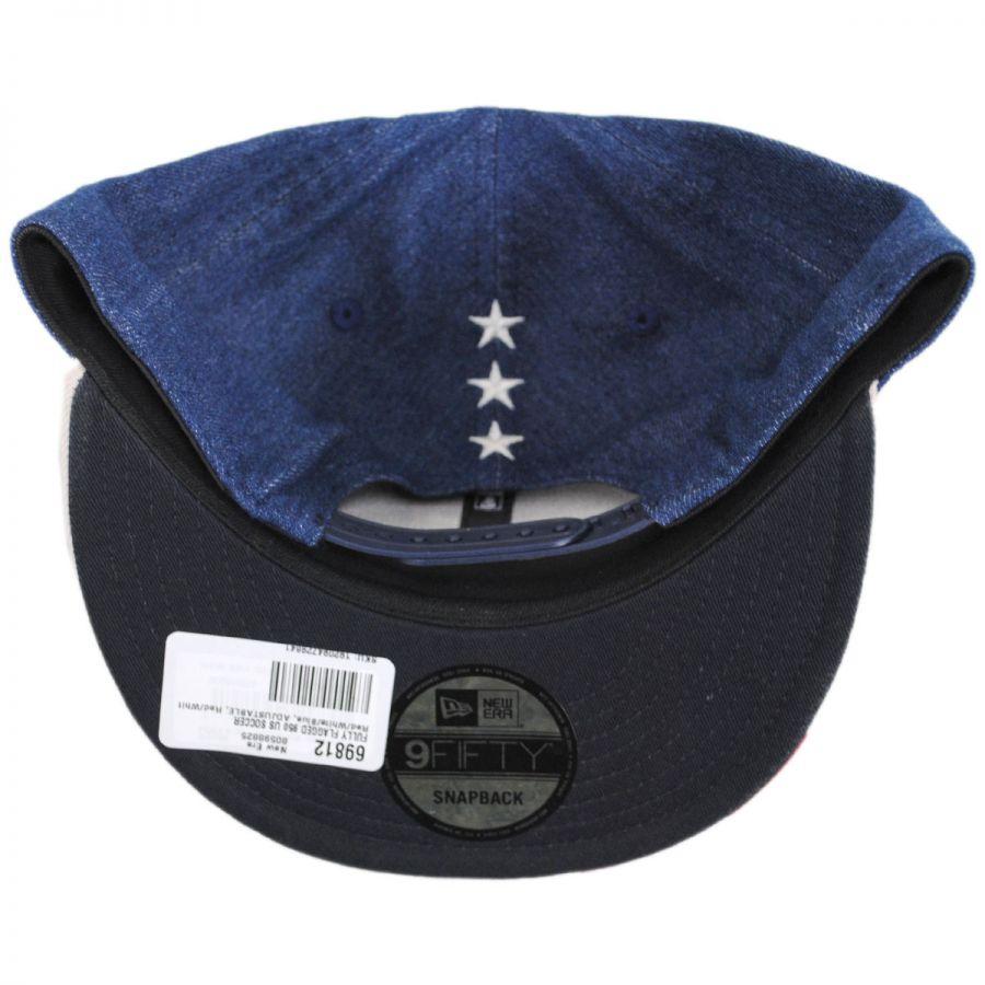 b3571194e44 US Soccer Fully Flagged 9Fifty Snapback Baseball Cap in · New Era