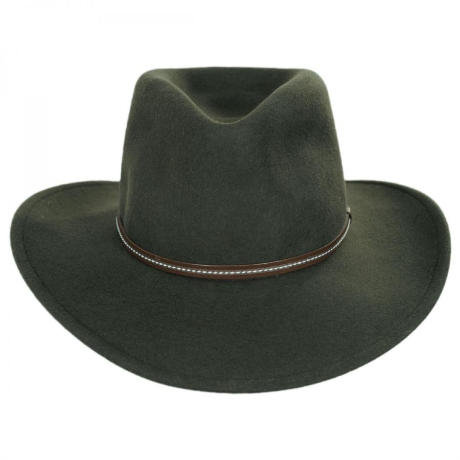 Stetson Gallatin Crushable Wool Felt Hat