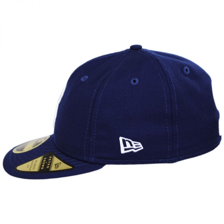 the best attitude 9d07e 766bb Brooklyn Dodgers MLB Retro Fit 59Fifty Fitted Baseball Cap in
