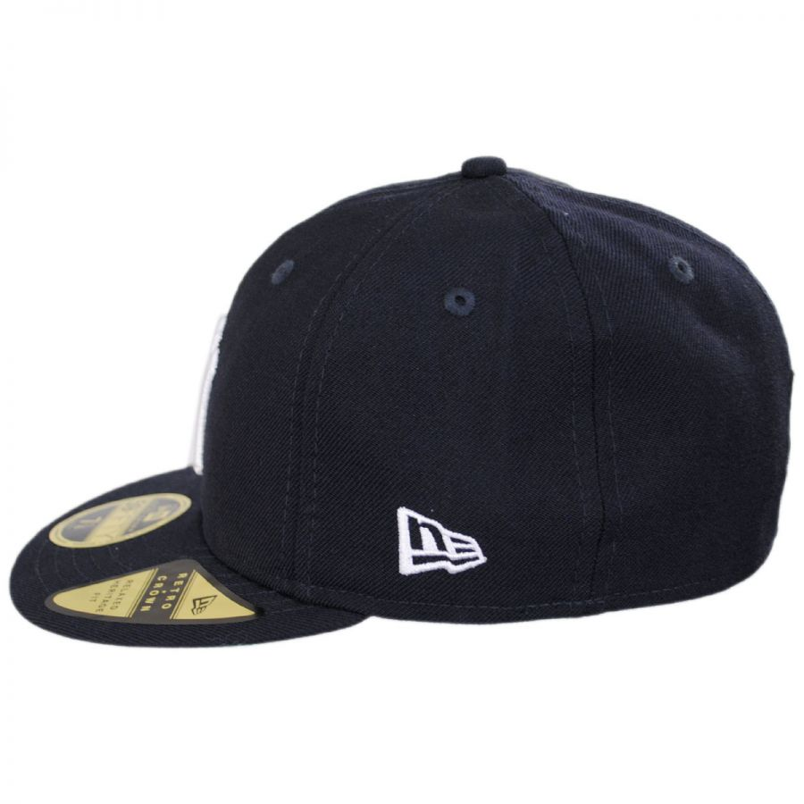 f8c2f70badc New Era New York Yankees MLB Retro Fit 59Fifty Fitted Baseball Cap ...
