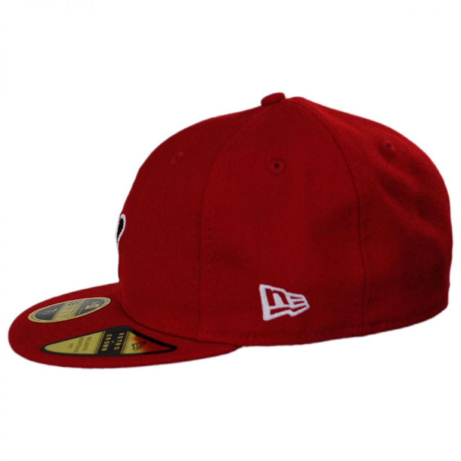 free shipping 86d23 d9a74 Saint Louis Cardinals MLB Retro Fit 59Fifty Fitted Baseball Cap in