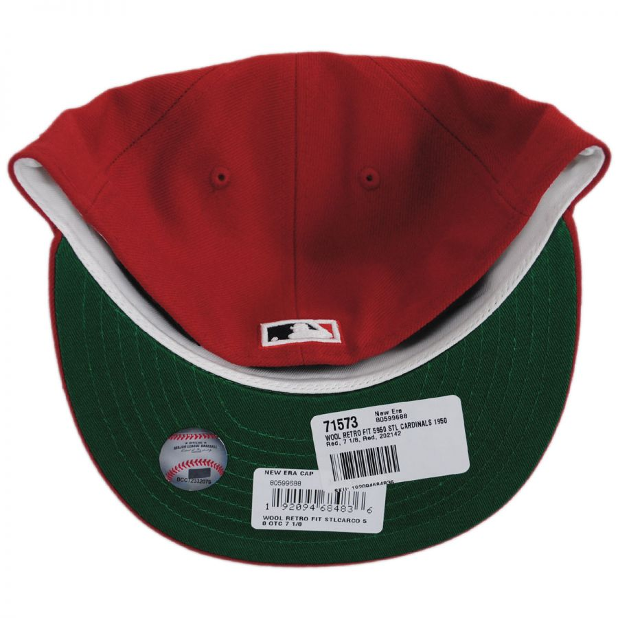 info for 6171e 9c357 Saint Louis Cardinals MLB Retro Fit 59Fifty Fitted Baseball Cap in. New Era