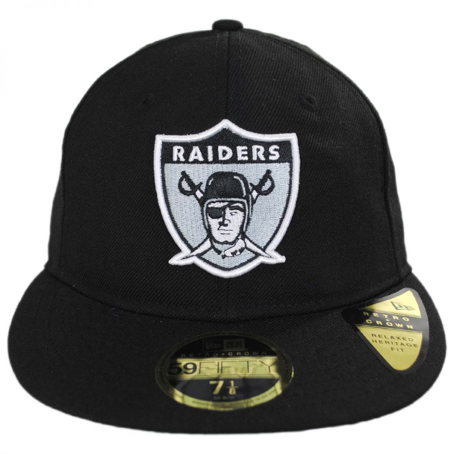 97b54386025 release date oakland raiders nfl retro fit 59fifty fitted baseball cap in  221f4 f57ed
