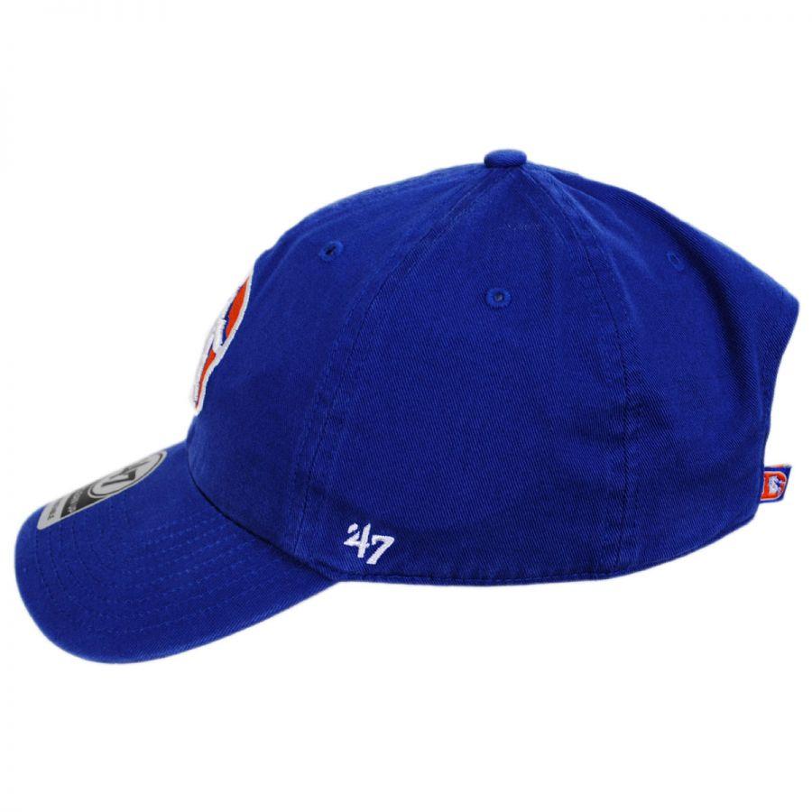 47172cbcf63 47 Brand Denver Broncos NFL Clean Up Legacy Strapback Baseball Cap ...