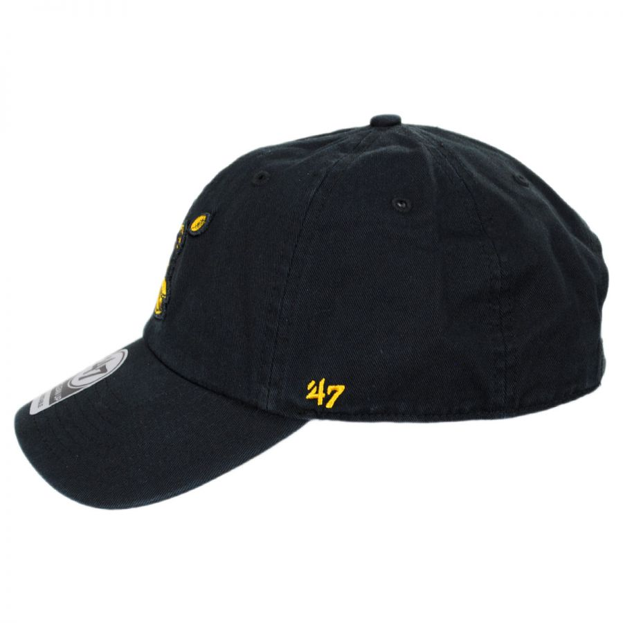 Pittsburgh Steelers NFL Clean Up Legacy Strapback Baseball Cap Dad Hat in 033c5ca043d