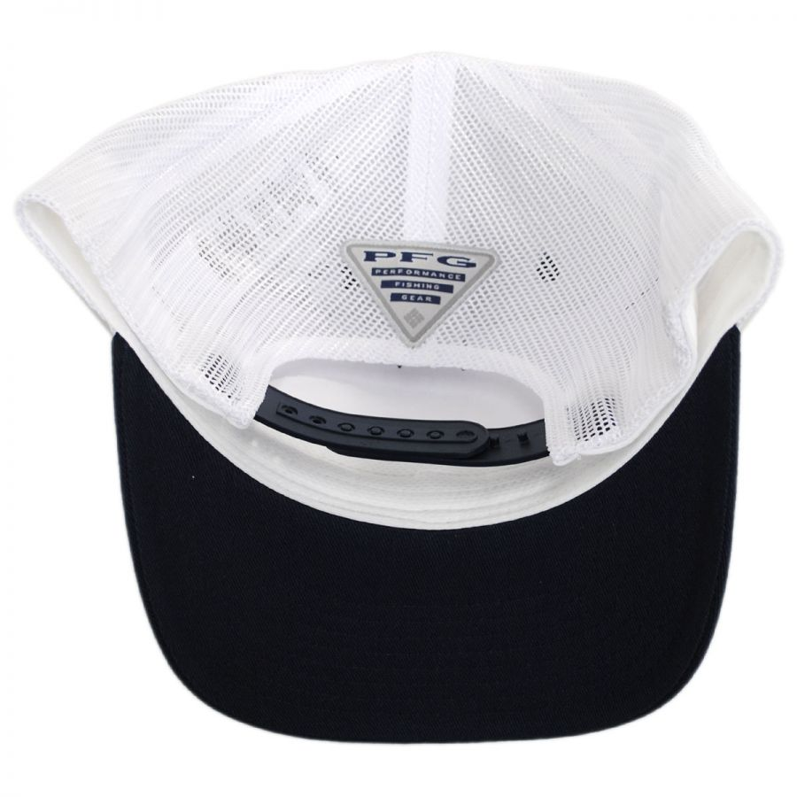 658a90d613cd8 Columbia Sportswear PFG Fish Flag Mesh Snapback Baseball Cap ...