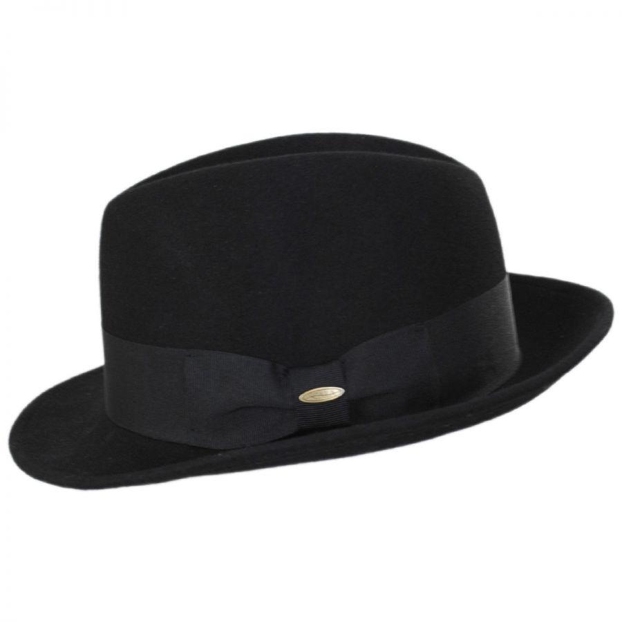 b2a207e9e8e97 Scala Low Rider Wool Classic Fedora Hat All Fedoras
