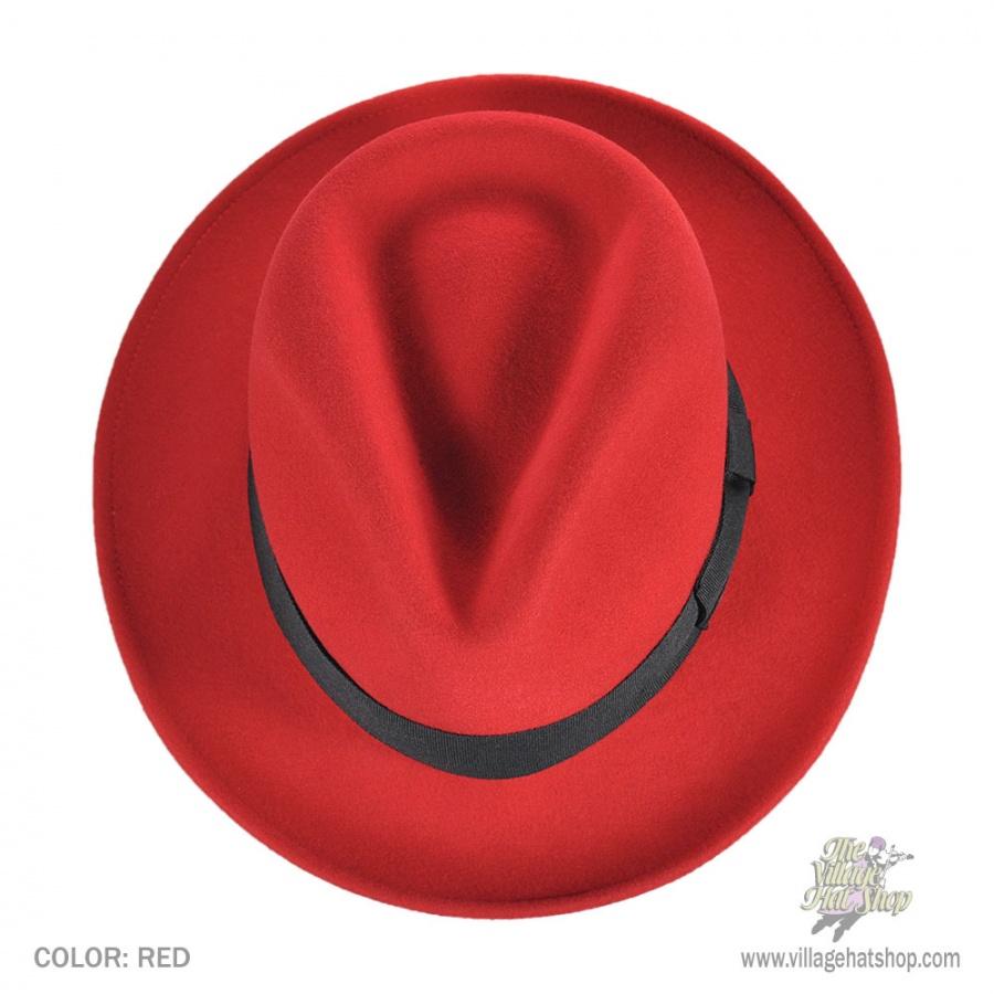 Jaxon Hats Pachuco Crushable Wool Felt Fedora Hat All Fedoras 78a46a4be9b