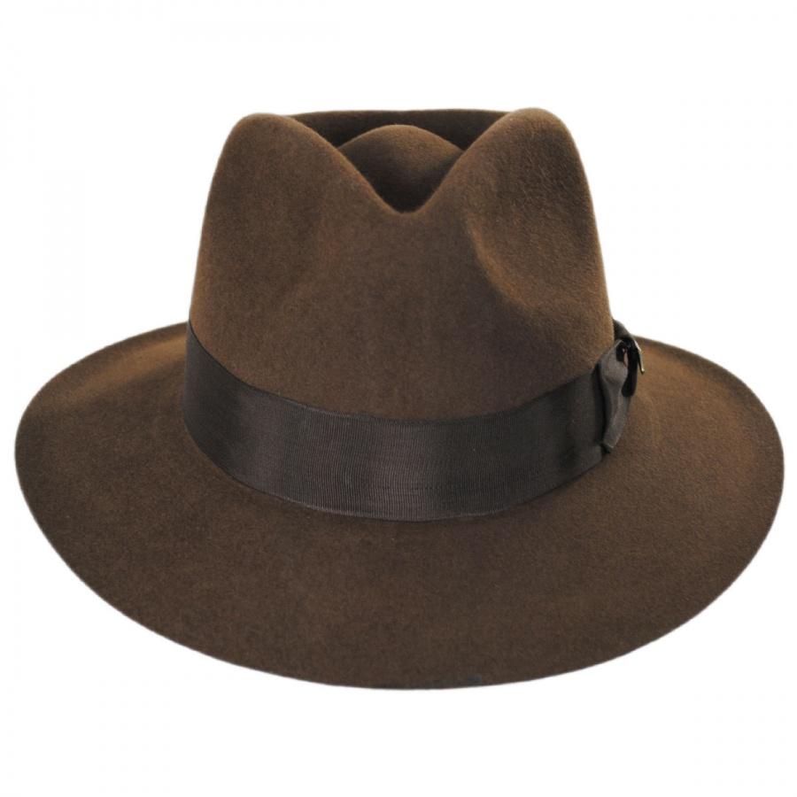 Indiana Jones Officially Licensed Fur Felt Fedora Hat All Fedoras 98e02b475a9