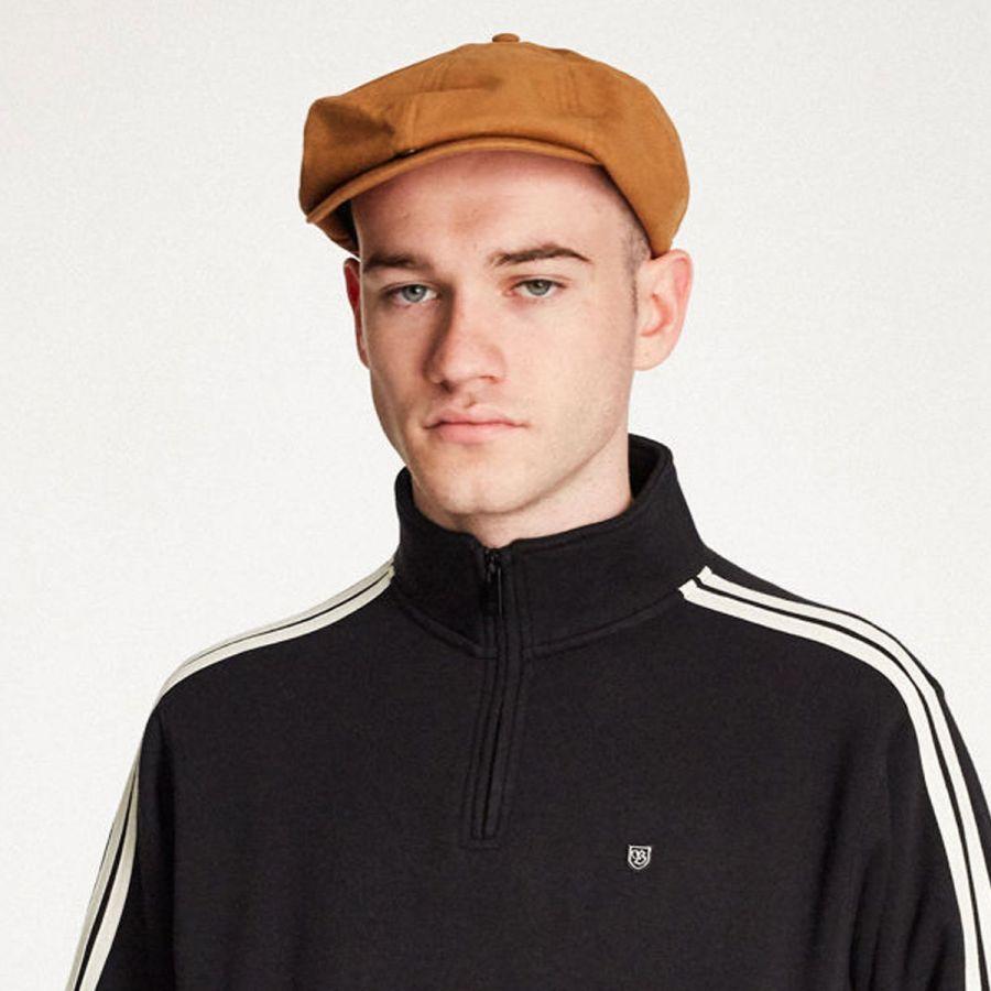 9ef166b0 Brixton Hats Brood Adjustable Newsboy Cap Newsboy Caps