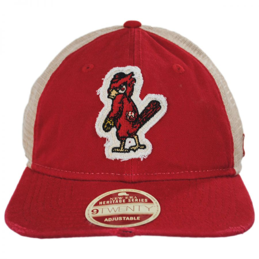 on sale 8f7c7 c9304 St. Louis Cardinals 1950 Strapback Trucker Baseball Cap in