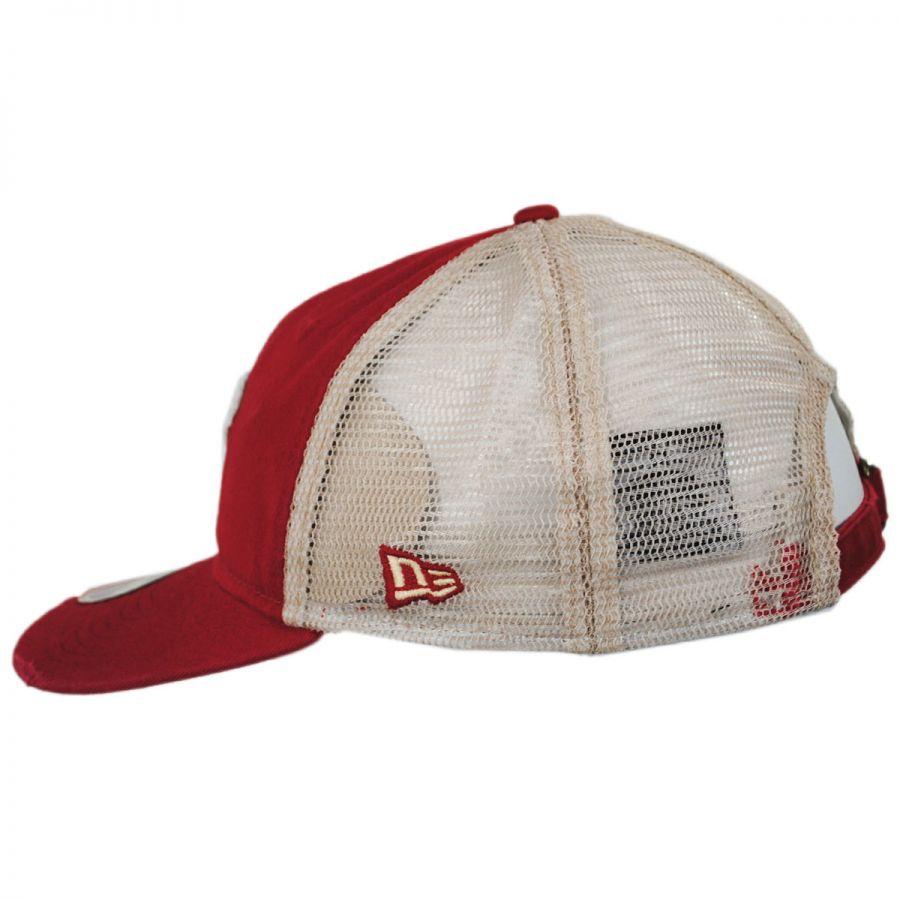 29b74758b Washington Senators Strapback Trucker Baseball Cap