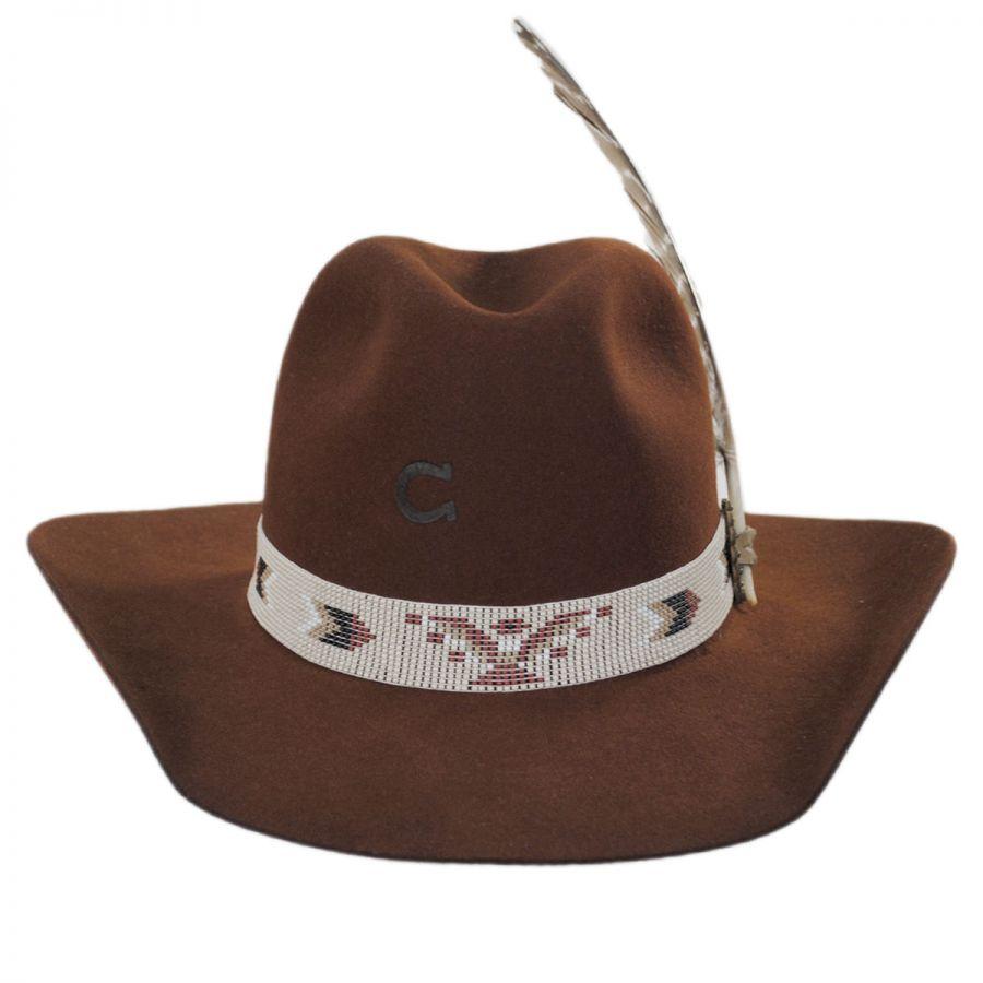 f5d1203b1ba Charlie 1 Horse Rain Bird Wool Western Hat Hats