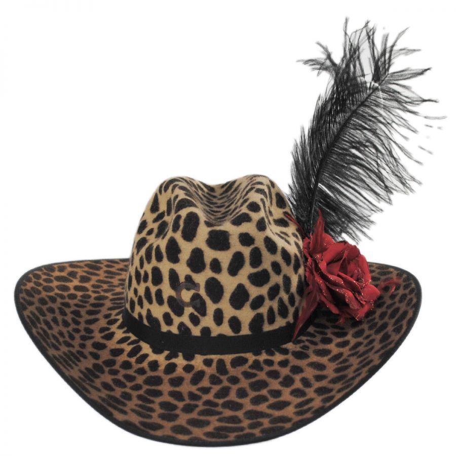 3ba93d6f5 On the Prowl Wool Western Hat