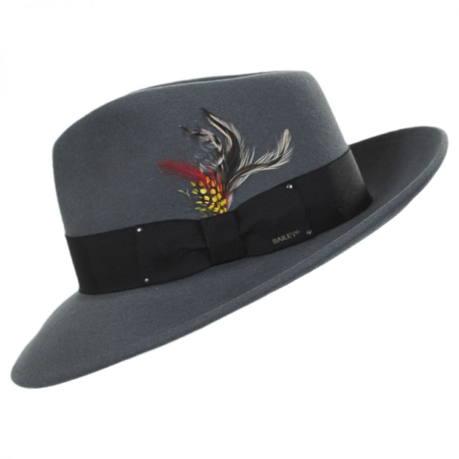 Packable Wool LiteFelt Fedora Hat - VHS Exclusive Color in f8e3cb70ff0