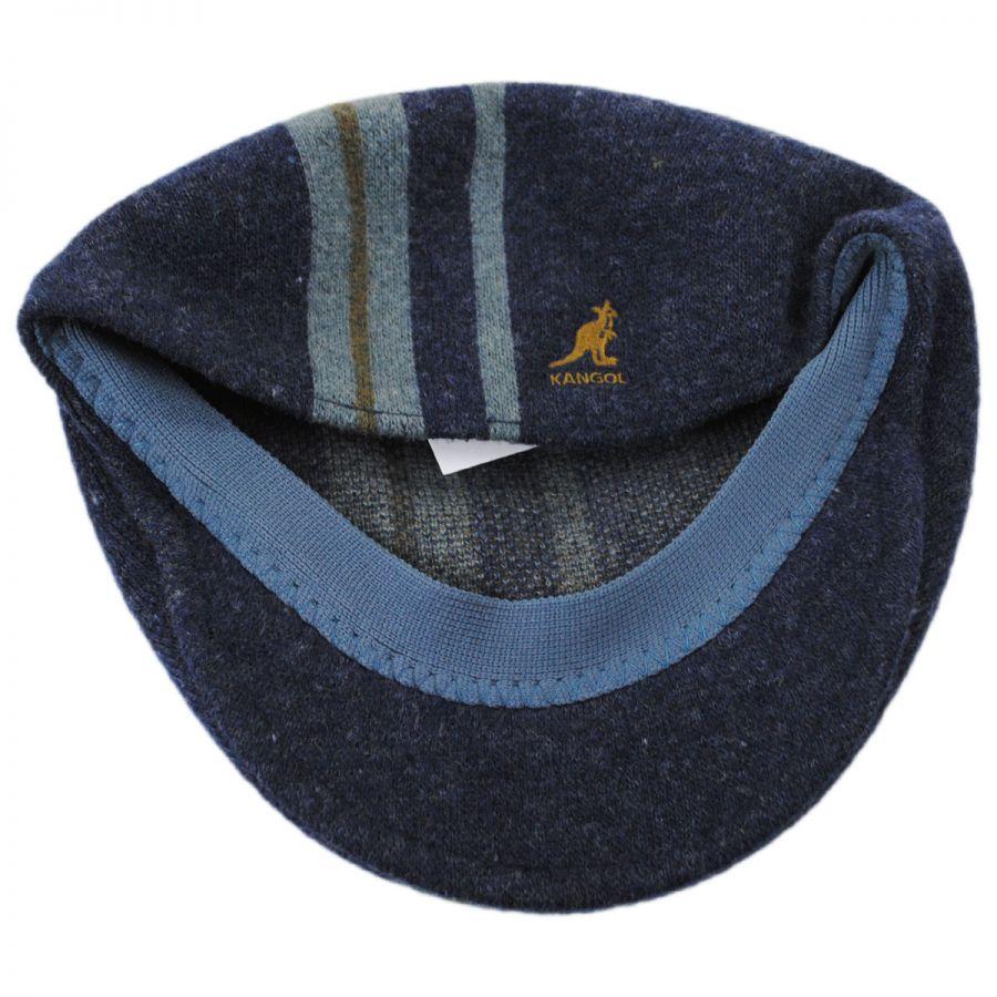 ed9ef8ef Kangol Identity Stripe 504 Wool Blend Ivy Cap Ivy Caps