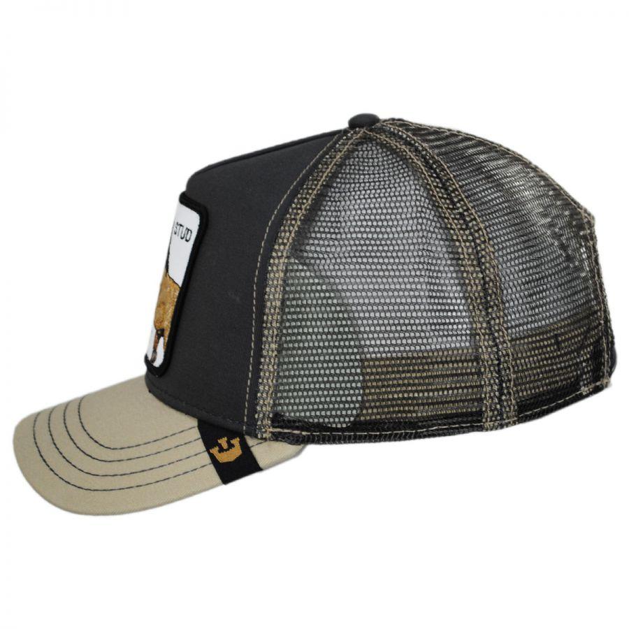 Goorin Bros Stud Trucker Snapback Baseball Cap Snapback Hats 9eefe1e4c87