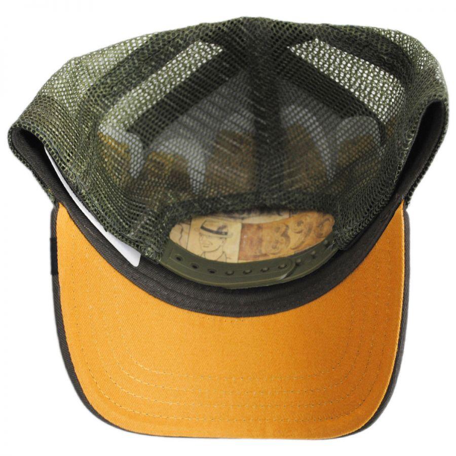 Goorin Bros Goat Trucker Snapback Baseball Cap Snapback Hats a0dafacb01f