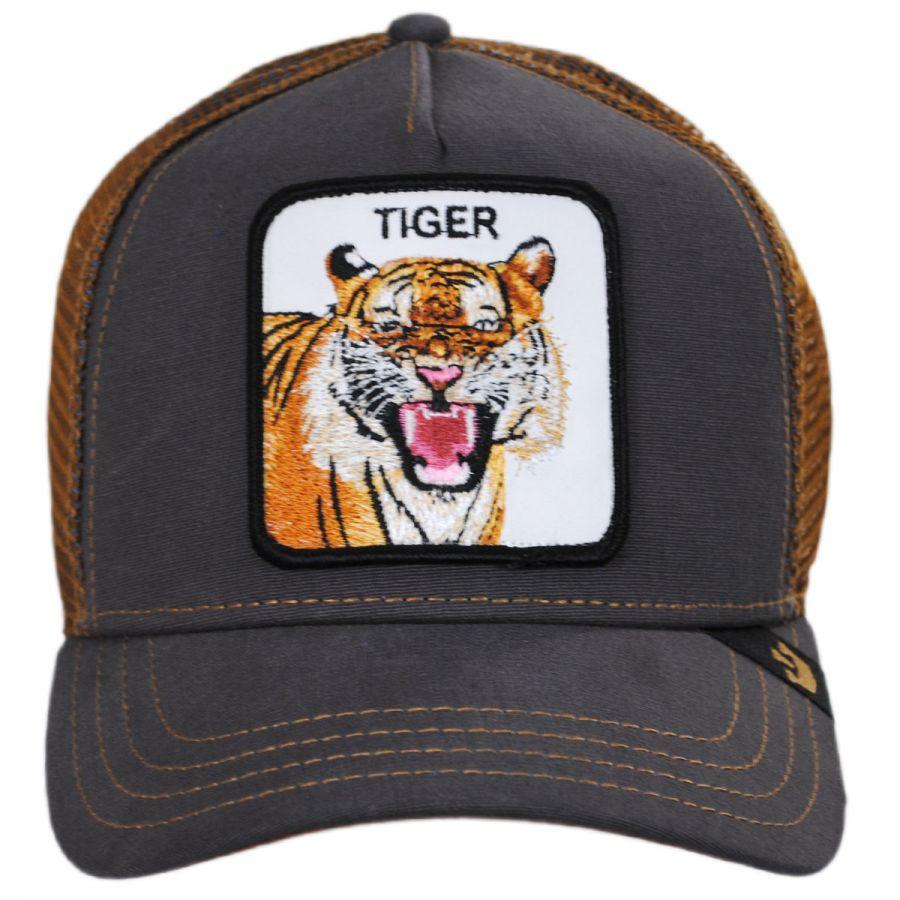 Goorin Bros Tiger Trucker Snapback Baseball Cap Snapback Hats 6399e6e1aab