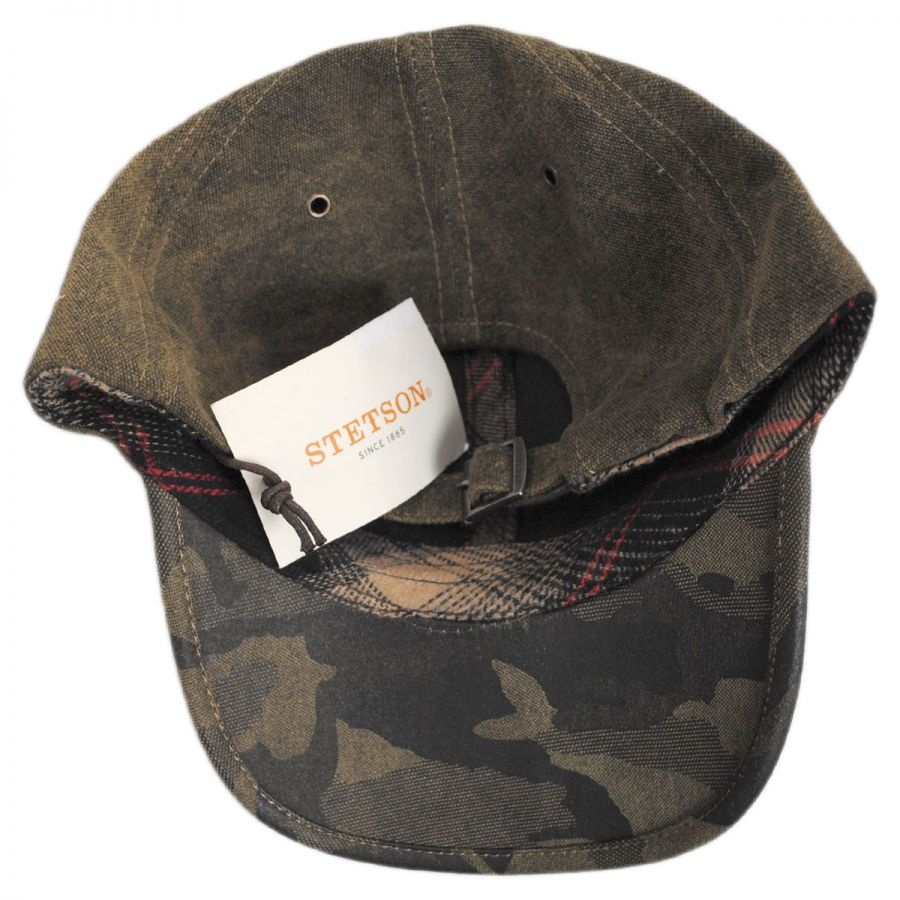 Stetson Tarp and Camo Baseball Cap Blank Baseball Caps 515548b1902